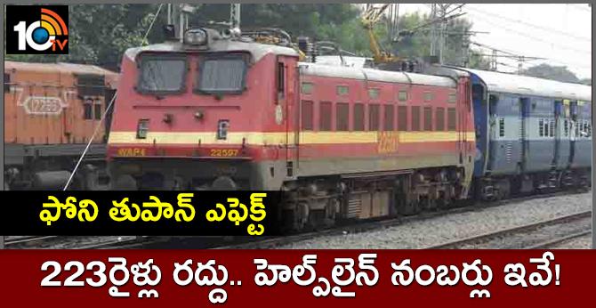 Cyclone Fani: South Central Railway put on high alert