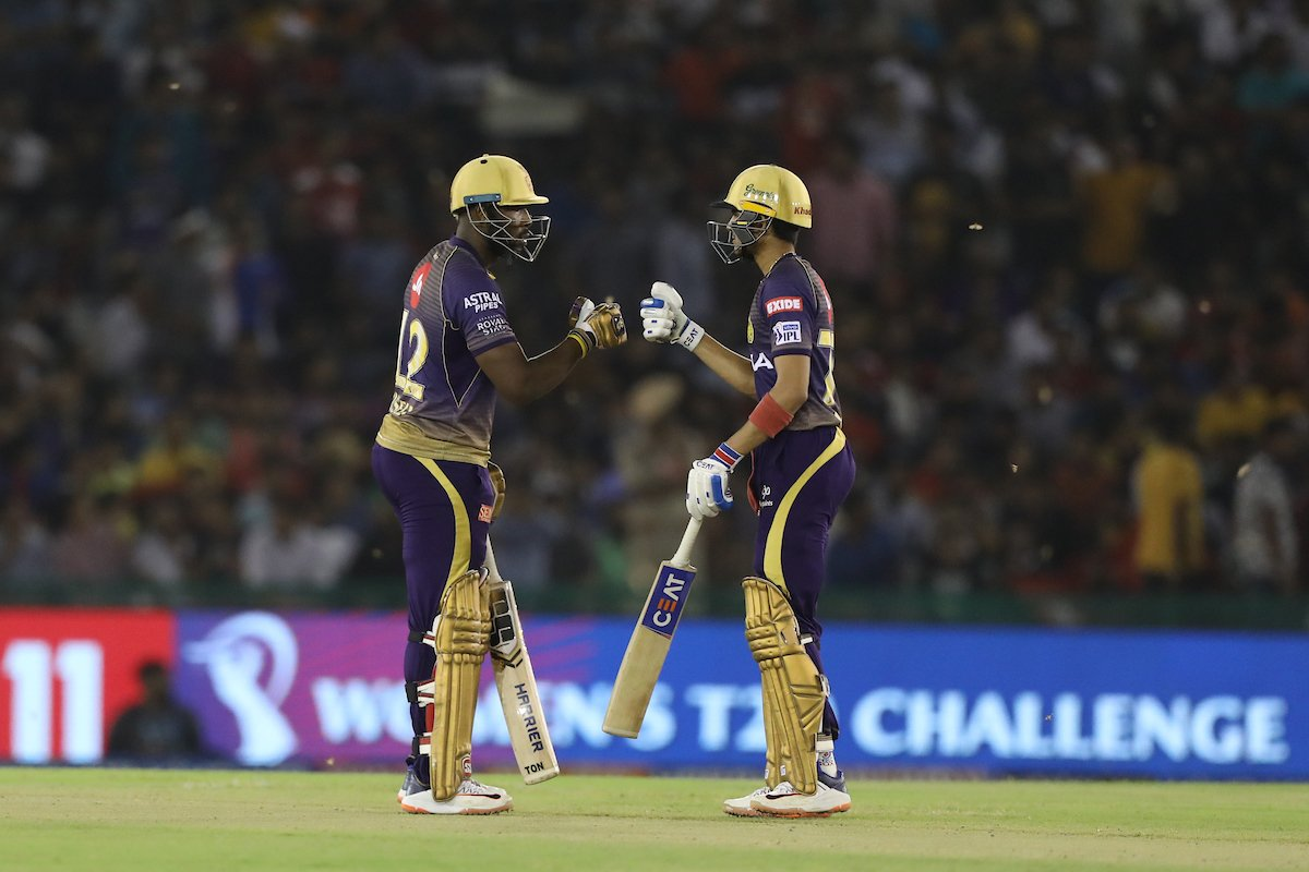 KXIPvsKKR: kolkata won by 7 wickets
