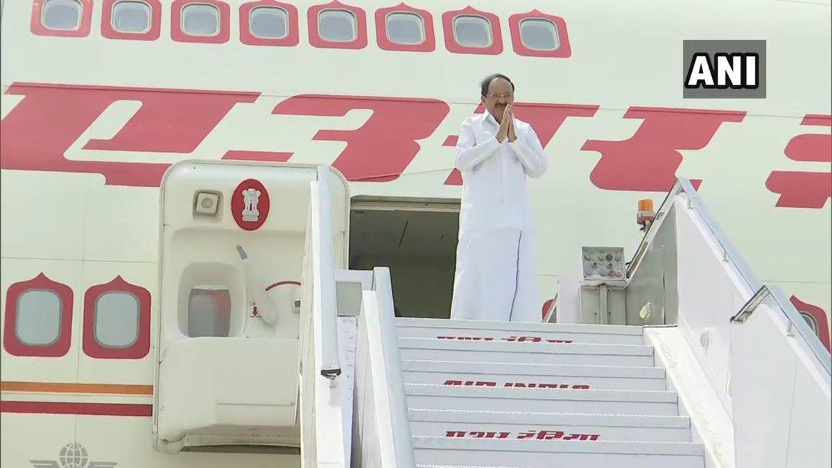 Vice-President M Venkaiah Naidu embarks on a 4-day visit to Vietnam