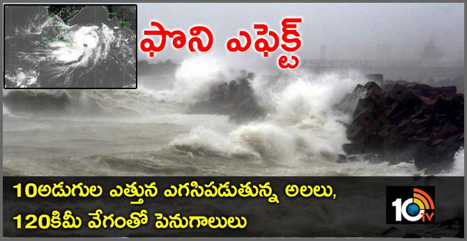 Fani Cyclone Effect
