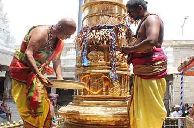 Govindaraja Swamy Brahmotsavam Today Garuda Seva