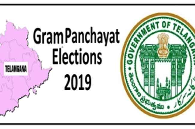 Telangana Parishad Election Details of polling percentage