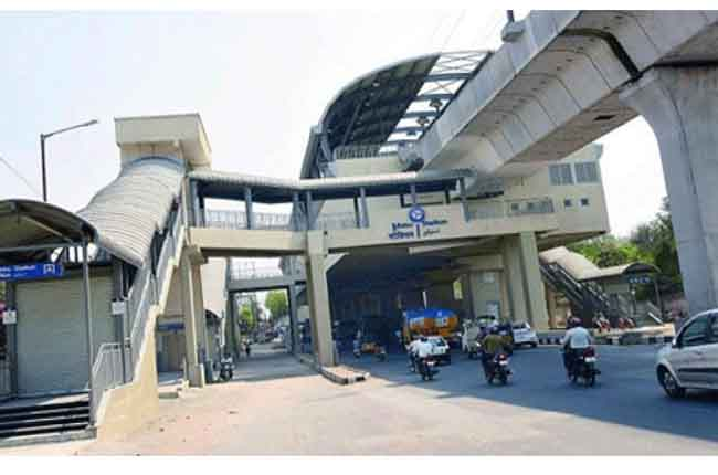 Use the Hyderabad Metro Station