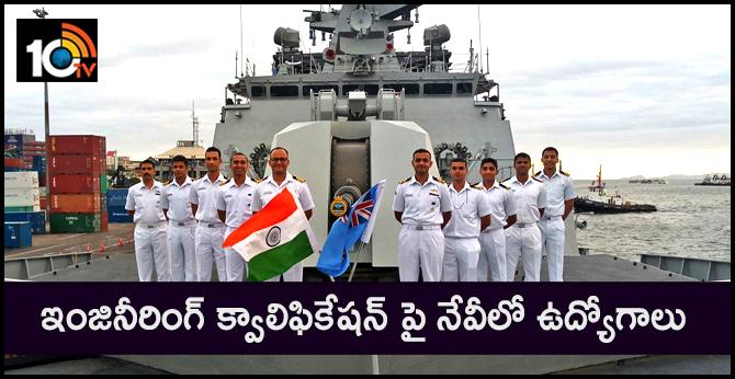 Indian Navy Recruitment 2019 for Chargeman 172 Vacancies