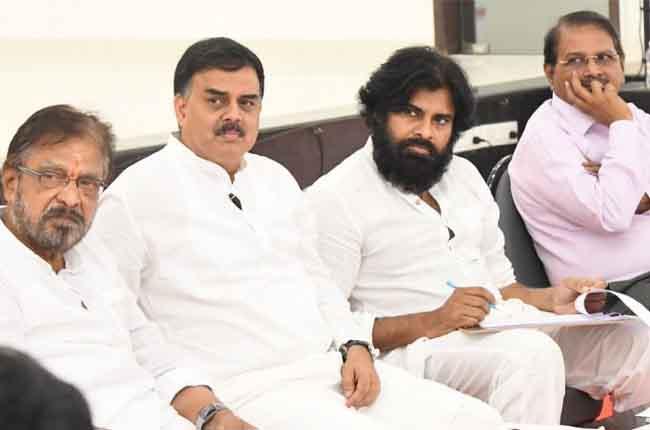 Pawan kalyan Talking About Cheating Praja Rajyam Party