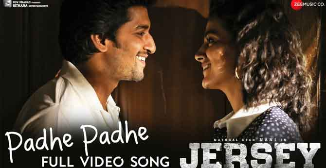Padhe Padhe - Full Video Song from JERSEY