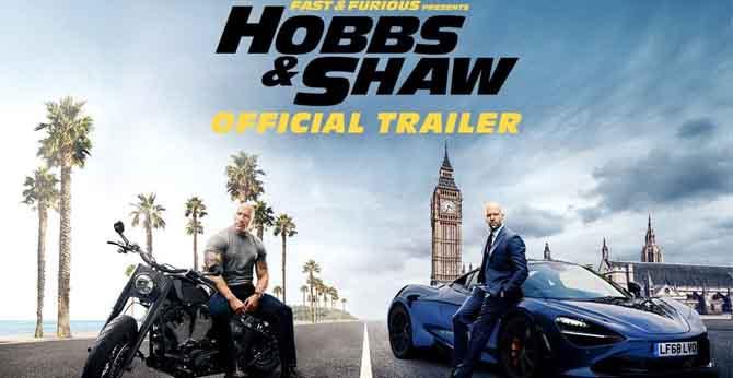 Telugu Trailer of Fast & Furious: Hobbs and Shaw