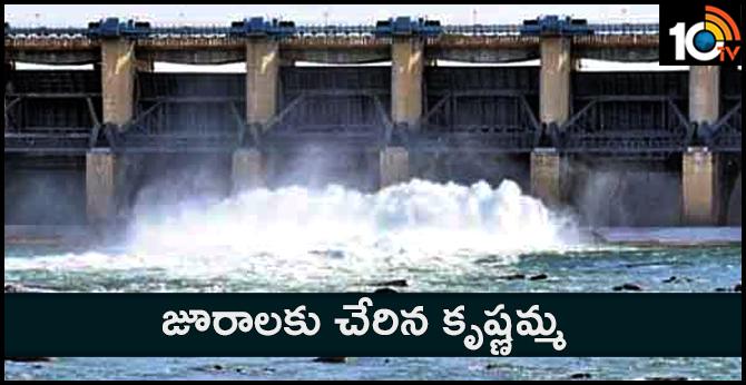 karnataka govt for release of water to jurala