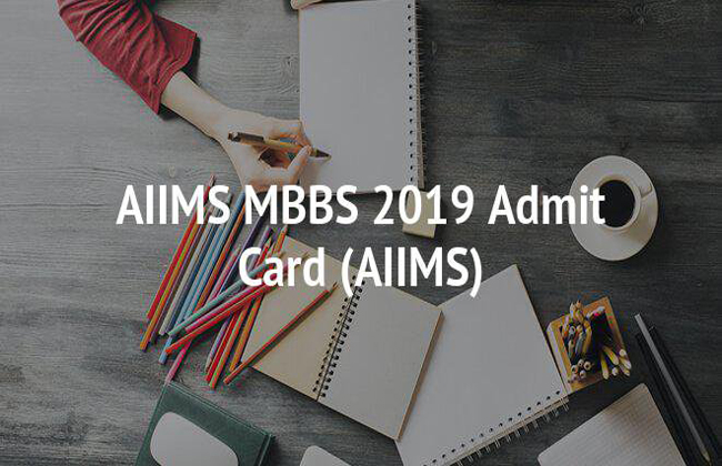 AIIMS MBBS Admit Card 2019 To Be Released Today Evening At 6pm