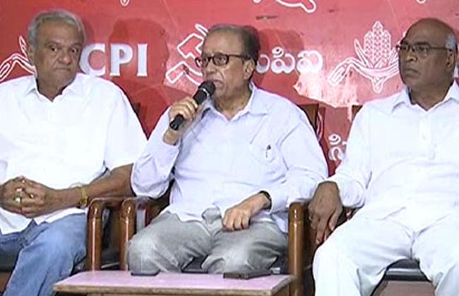 Suravaram Sudhakar Reddy Press meet