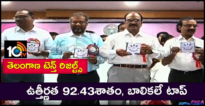 ts ssc 10th result 2019 Release