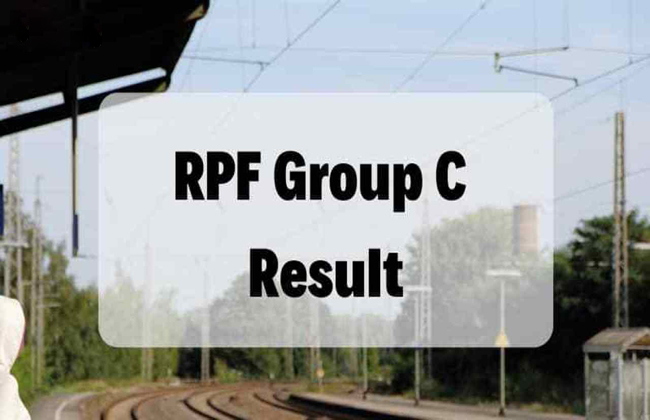 RPF Constable GRP-C Admit Card And Second Merit List Released