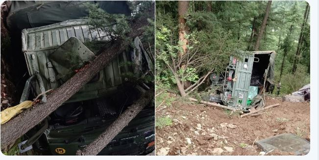 Helicopter and Army Vehicle Accidents in Different Areas Himachal Pradesh..Uttarakhand