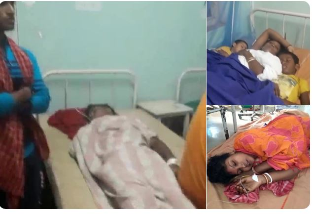 4 dead & 27 injured after a wall of a temple, where people were gathering to celebrate collapsed in Kachua