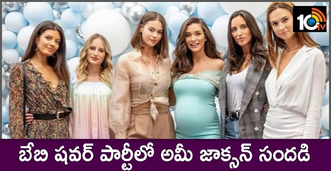 Pregnant Amy Jackson Gets A Fairytale Baby Shower In London. Inside Pics