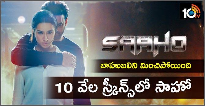 Saaho : Prabhas film to hit 10,000 screens in india