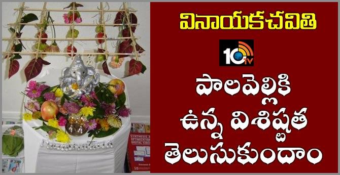 Vinayaka chavithi pooja Palavelli special