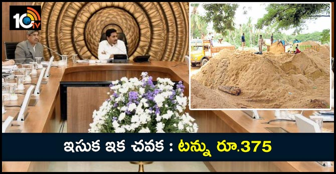 AP Cabinet approved new sand policy