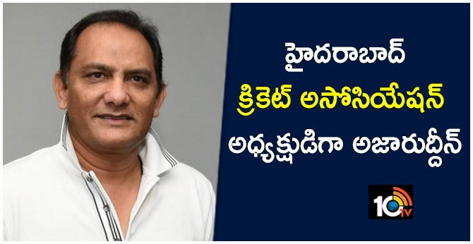 AZHARUDDIN WON IN HYDERABAD CRICKET ASSOCIATION ELECTIONS