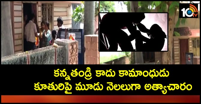 Father Harassment for three months on Daughter