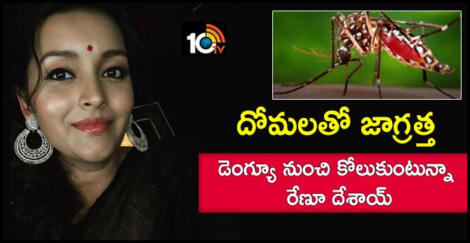 I have to shoot while recovering from dengue Renu Desai