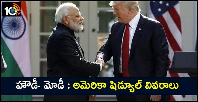 Indian PM Narendra Modi on US tour
