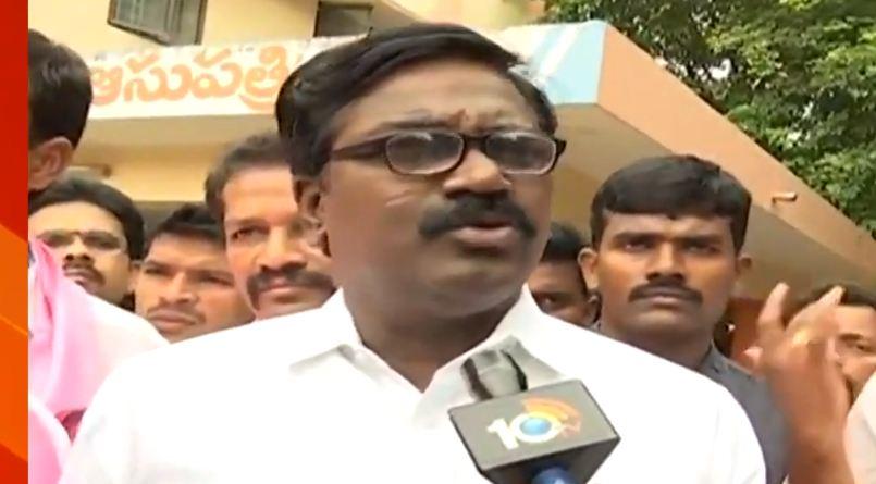 Minister Puvvada Ajay who reached Rajahmundry East Godavari Boat Accident