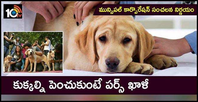 UP Ghaziabad  Municipal Corporation pet dog adn cat registration fee fine