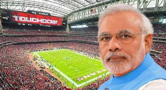 Howdy Modi Meeting preparations | Heavy Rain In Houston