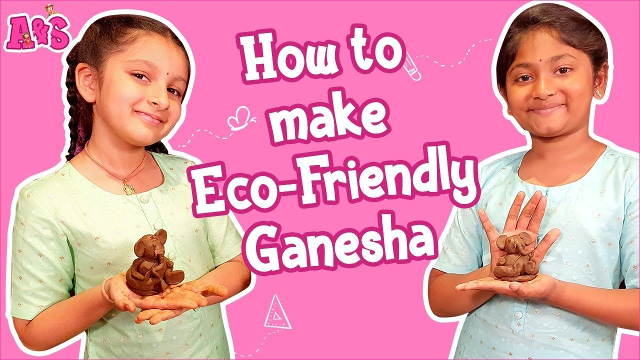 How To Make Eco-Friendly Ganesha | Aadya Sitara DIY Eco-Friendly Ganesha