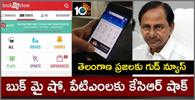 Telangana Govt Going to be launching App For Booking Movie Tickets