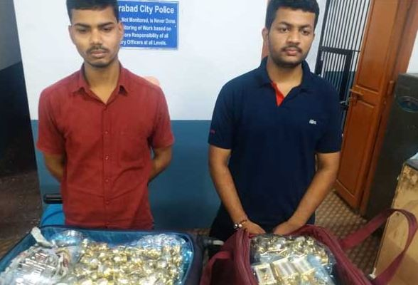 Rs 20 lakh worth of silver seized in hyderabad