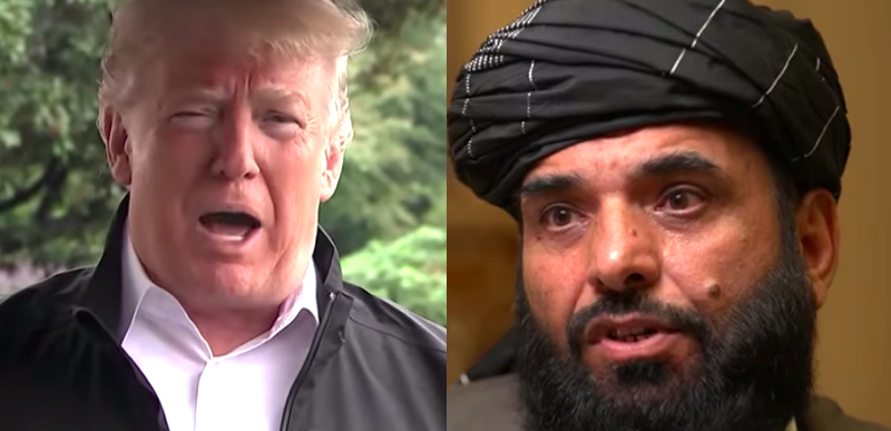 Taliban warns of more US dead after Trump says he cancelled peace talks