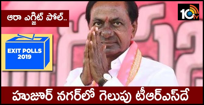 AARAA Survey declared that trs will win in huzoor nagar by election