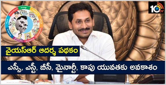 AP Cabinet Decisions YSR Adarsha Scheme