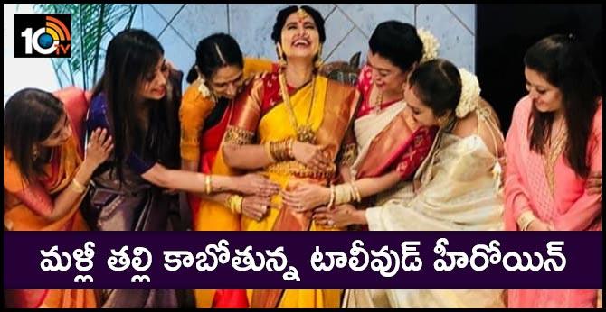 Actress Sneha Seemantham Celebrations