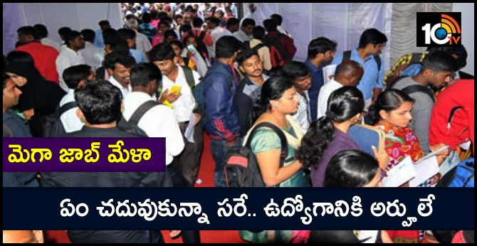 Anantapur Mega Job Fair at Railway High School