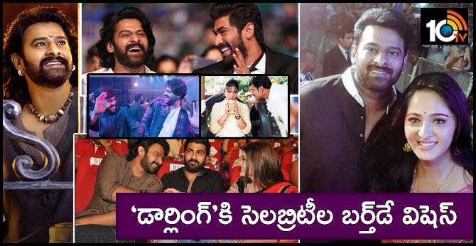 Celebritiess Birthday Wishes To Rebel Star Prabhas