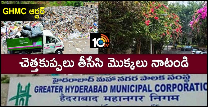 GHMC plans to remove open garbage dumping points