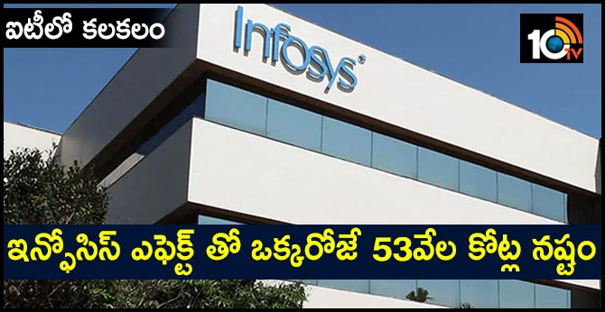 Investors Lose Rs. 53,000 Crore As Infosys Shares Sink Amid Row Over CEO
