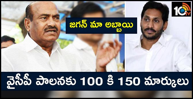 JC Diwakar Reddy marks on CM Jagan Ruling
