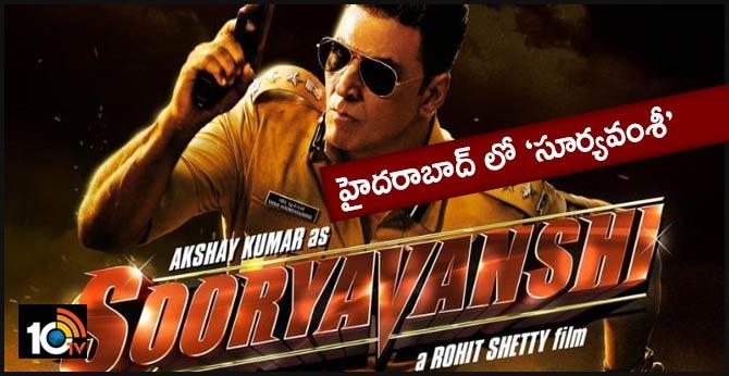 Sooryavanshi Shooting in Ramoji Film City