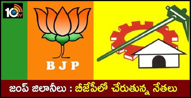 Telugu States Leaders Join In BJP