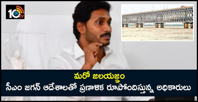 cm jagan orders to the Officers preparing the project report