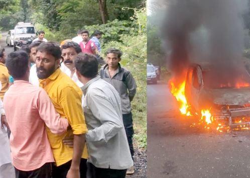 Maharashtra Election 2019 Opposition candidate shot At Amaravati