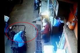 rickshaw saved a child in madhyapradesh