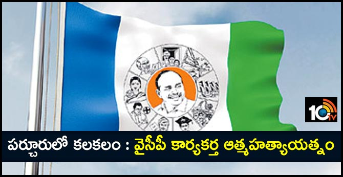 ysrcp activist suicide attempt