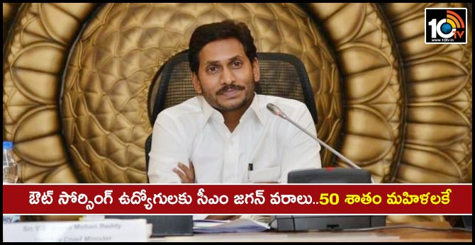 CM jagan is Good News for Outsourcing Employees..50% is for women ..Salaries and Jobs
