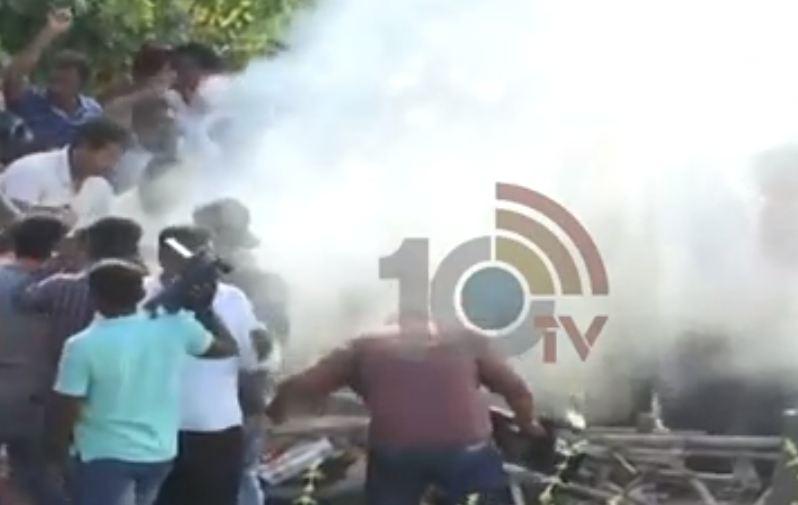 Driver Babu Funeral High Tension In Karimnagar