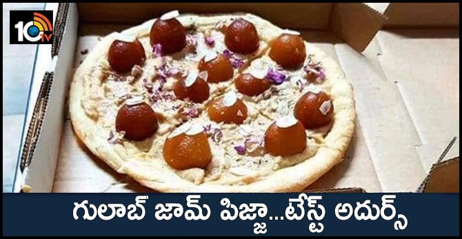 Gulab Jamun Pizza Pic Goes Viral, Sparks Online Debate